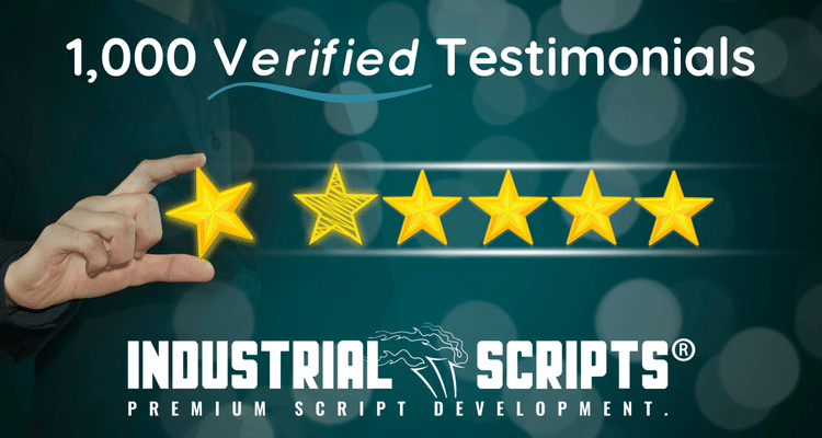 industrial scripts reviews 1000